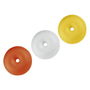 Flat1 D80 oranssi kellua