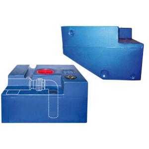 shapedocean-järjestelmän jätevesisäiliö 45 lt 430x550x290 mm 24 v
