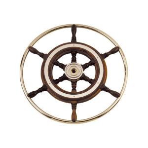 Pyörä D600 Circle mahonki / messinki
